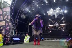 Lady Leshurr performing at Parklife Festival 2016 on June 11, 2016. (Photo: Priti Shikotra/Aesthetic Magazine)
