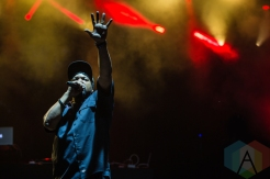 Ice Cube performing at Amnesia Rockfest 2016 in Montebello, Quebec on June 25, 2016. (Photo: Scott Penner/Aesthetic Magazine)