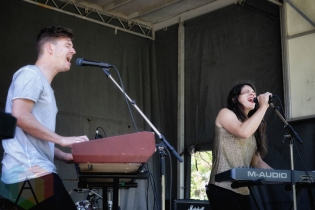 To The Trees performing at KOI Fest at the Parking Lot in Kitchener on June 25, 2016. (Photo: Dan Fischer/Aesthetic Magazine)