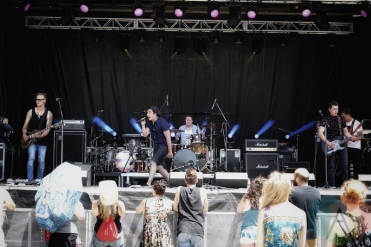 Navigate The Sky performing at KOI Fest at the Parking Lot in Kitchener on June 25, 2016. (Photo: Dan Fischer/Aesthetic Magazine)