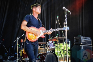 Ivory Hours performing at KOI Fest at the Parking Lot in Kitchener on June 25, 2016. (Photo: Dan Fischer/Aesthetic Magazine)