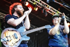The Strumbellas performing at KOI Fest at the Parking Lot in Kitchener on June 25, 2016. (Photo: Dan Fischer/Aesthetic Magazine)