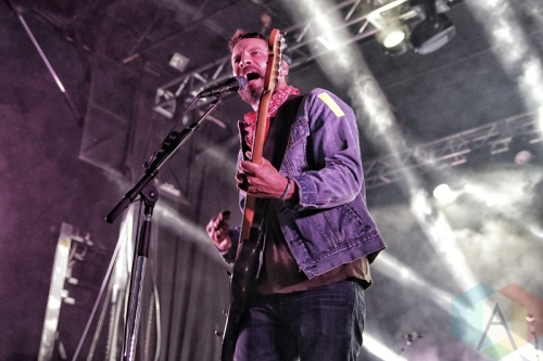 Sam Roberts Band performing at KOI Fest at the Parking Lot in Kitchener on June 25, 2016. (Photo: Dan Fischer/Aesthetic Magazine)