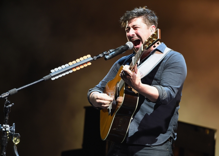 Marcus Mumford of Mumford and Sons performing at the Firefly Music Festival on June 19, 2016 in Dover, Delaware. (Photo: Theo Wargo/Getty)