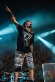Lamb of God performing at Amnesia Rockfest 2016 in Montebello, Quebec on June 25, 2016. (Photo: Scott Penner/Aesthetic Magazine)