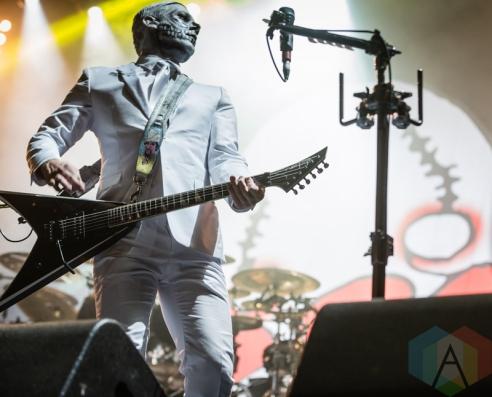 Limp Bizkit performing at Amnesia Rockfest 2016 in Montebello, Quebec on June 25, 2016. (Photo: Scott Penner/Aesthetic Magazine)