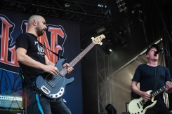 Millencolin performing at Amnesia Rockfest 2016 in Montebello, Quebec on June 25, 2016. (Photo: Scott Penner/Aesthetic Magazine)