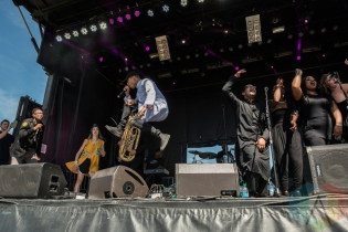 Sir The Baptist performing at Sasquatch 2016 at the Gorge Amphitheatre in George, Washington on May 30, 2016. (Photo: Kevin Tosh/Aesthetic Magazine)