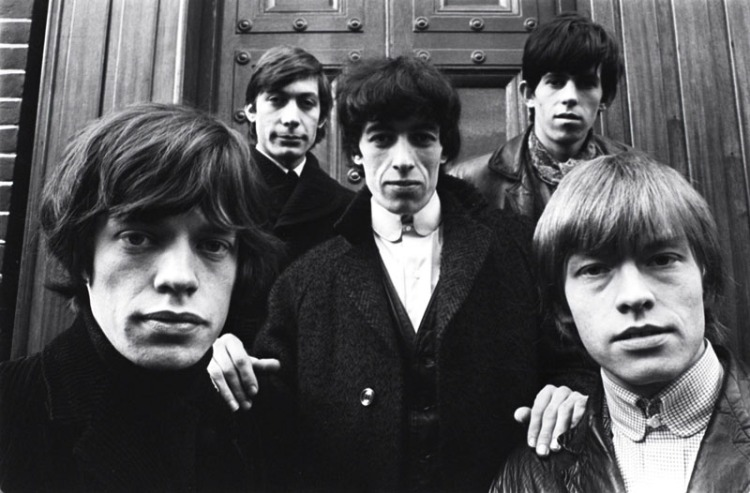 The Rolling Stones. (Photo: Terry O'Neill/Rex USA)