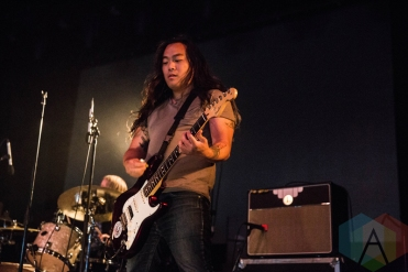 La Dispute performing at the Sound Academy in Toronto on June 21, 2016. (Photo: Kelsey Giesbrecht/Aesthetic Magazine)