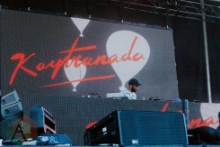 Kaytranada performing at FVDED in the Park at Holland Park in Surrey, BC on July 3, 2016. (Photo: Timothy Nguyen/Aesthetic Magazine)