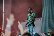 Travis Scott performing at FVDED in the Park at Holland Park in Surrey, BC on July 3, 2016. (Photo: Timothy Nguyen/Aesthetic Magazine)