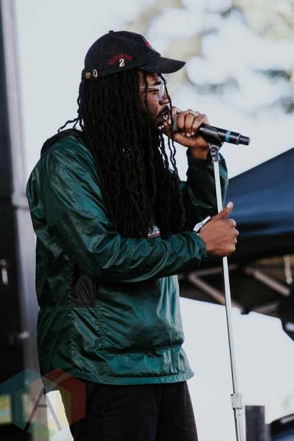 DRAM performing at FVDED in the Park at Holland Park in Surrey, BC on July 3, 2016. (Photo: Timothy Nguyen/Aesthetic Magazine)