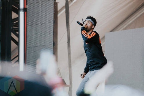 Metro Boomin performing at FVDED in the Park at Holland Park in Surrey, BC on July 3, 2016. (Photo: Timothy Nguyen/Aesthetic Magazine)