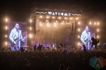 Arcade Fire performing at the Wayhome Music Festival on July 23, 2016. (Photo: Brandon Newfield/Aesthetic Magazine)