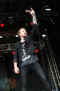 Beartooth performing at Chicago Open Air on July 16, 2016. (Photo: Katie Kuropas/Aesthetic Magazine)