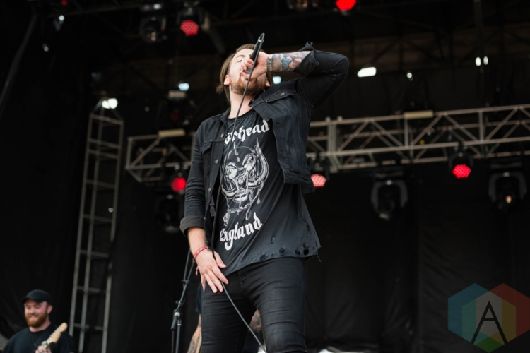 beartooth performing at chicago open air on july 16 2016 photo