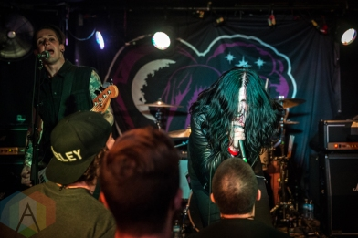 Creeper performing at the Hard Luck Bar in Toronto on July 22, 2016. (Photo: Brendan Albert/Aesthetic Magazine)