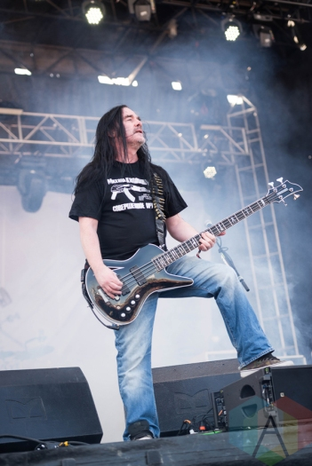 Carcass performing at Chicago Open Air on July 16, 2016. (Photo: Katie Kuropas/Aesthetic Magazine)