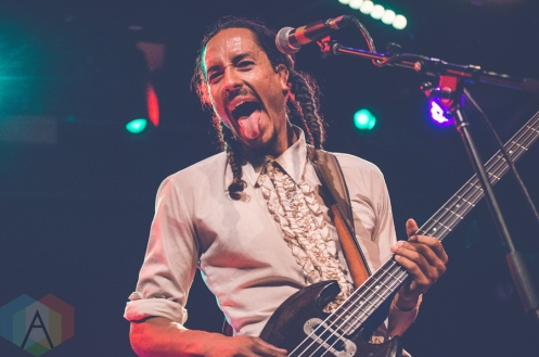 Chicano Batman performing at the Bowery Ballroom in New York City on July 30, 2016. (Photo: Saidy Lopez/Aesthetic Magazine)