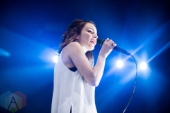 CHVRCHES performing at the Wayhome Music Festival on July 22, 2016. (Photo: Brandon Newfield/Aesthetic Magazine)