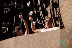 Cosmic Gate performing at Digital Dreams in Toronto on July 3, 2016. (Photo: Brandon Newfield/Aesthetic Magazine)