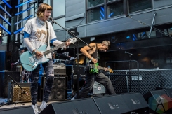 Dilly Dally performing at the Capitol Hill Block Party in Seattle on July 22, 2016. (Photo: Kevin Tosh/Aesthetic Magazine)