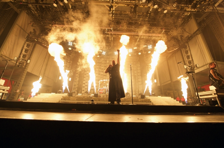 Disturbed performing at Chicago Open Air on July 16, 2016. (Photo: Chicago Open Air)