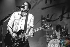 Silversun Pickups performing at the Danforth Music Hall in Toronto on July 30, 2016. (Photo: Francesca Ludikar/Aesthetic Magazine)