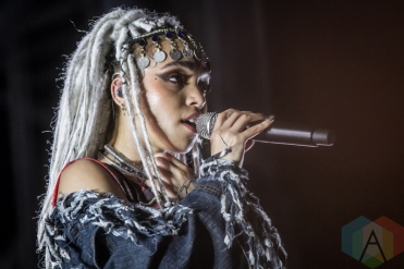 FKA Twigs performing at the Pitchfork Music Festival in Chicago on July 17, 2016. (Photo: Kari Terzino/Aesthetic Magazine)