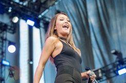 Kira Isabella performing at the CMT Music Fest on July 9, 2016. (Photo: Orest Dorosh/Aesthetic Magazine)