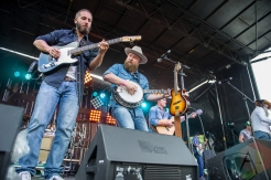 The Washboard Union performing at the CMT Music Fest on July 9, 2016. (Photo: Orest Dorosh/Aesthetic Magazine)