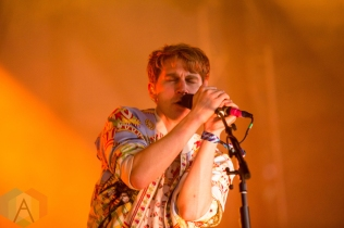 Glass Animals performing at the Wayhome Music Festival on July 24, 2016. (Photo: Brandon Newfield/Aesthetic Magazine)