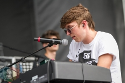 Holy Ghost performing at the Pitchfork Music Festival in Chicago on July 17, 2016. (Photo: Kari Terzino/Aesthetic Magazine)