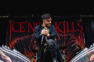 Ice Nine Kills performing at Warped Tour 2016 at Jones Beach Theater in Long Island, New York on July 9, 2016. (Photo: Saidy Lopez/Aesthetic Magazine)