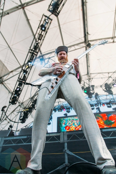 Mastodon performing at the Pemberton Music Festival on July 16, 2016. (Photo: Steven Shepherd/Aesthetic Magazine)