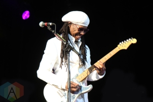 Chic featuring Nile Rodgers performing at the Molson Amphitheatre in Toronto on July 13, 2016. (Photo: Stephan Ordonez/Aesthetic Magazine)