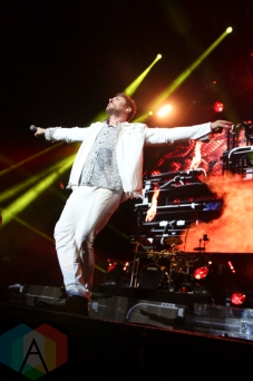 Duran Duran performing at the Molson Amphitheatre in Toronto on July 13, 2016. (Photo: Stephan Ordonez/Aesthetic Magazine)