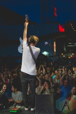Hollerado performing at Red Truck Brewery in Vancouver on July 9, 2016. (Photo: Isaac Wray/Aesthetic Magazine)
