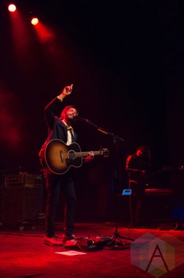 Lord Huron performing at the Danforth Music Hall in Toronto on July 7, 2016. (Photo: Janine Wong/Aesthetic Magazine)