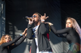 Jeremih performing at the Pitchfork Music Festival in Chicago on July 17, 2016. (Photo: Kari Terzino/Aesthetic Magazine)