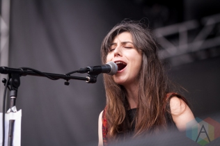 Julia Holter performing at the Pitchfork Music Festival in Chicago on July 15, 2016. (Photo: Kari Terzino/Aesthetic Magazine)