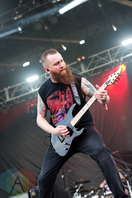 Killswitch Engage performing at Chicago Open Air on July 17, 2016. (Photo: Katie Kuropas/Aesthetic Magazine)