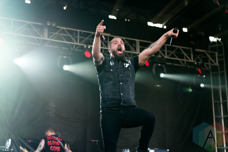 killswitch engage performing at chicago open air on july 17 2016