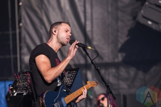 M83 performing at the Wayhome Music Festival on July 23, 2016. (Photo: Brandon Newfield/Aesthetic Magazine)