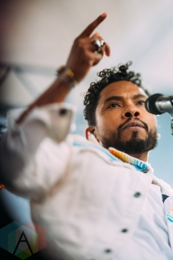 Miguel performing at the Pemberton Music Festival on July 15, 2016. (Photo: Steven Shepherd/Aesthetic Magazine)