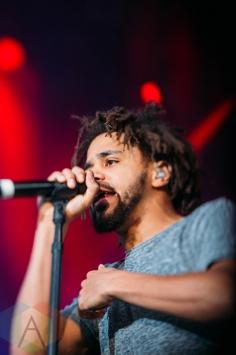 J Cole performing at the Pemberton Music Festival on July 15, 2016. (Photo: Steven Shepherd/Aesthetic Magazine)