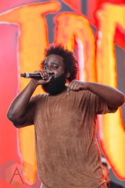 Bas performing at the Pemberton Music Festival on July 16, 2016. (Photo: Steven Shepherd/Aesthetic Magazine)