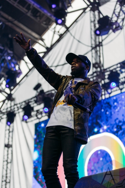 Tory Lanez performing at the Pemberton Music Festival on July 16, 2016. (Photo: Steven Shepherd/Aesthetic Magazine)