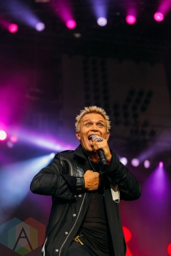 Billy Idol performing at the Pemberton Music Festival on July 16, 2016. (Photo: Steven Shepherd/Aesthetic Magazine)